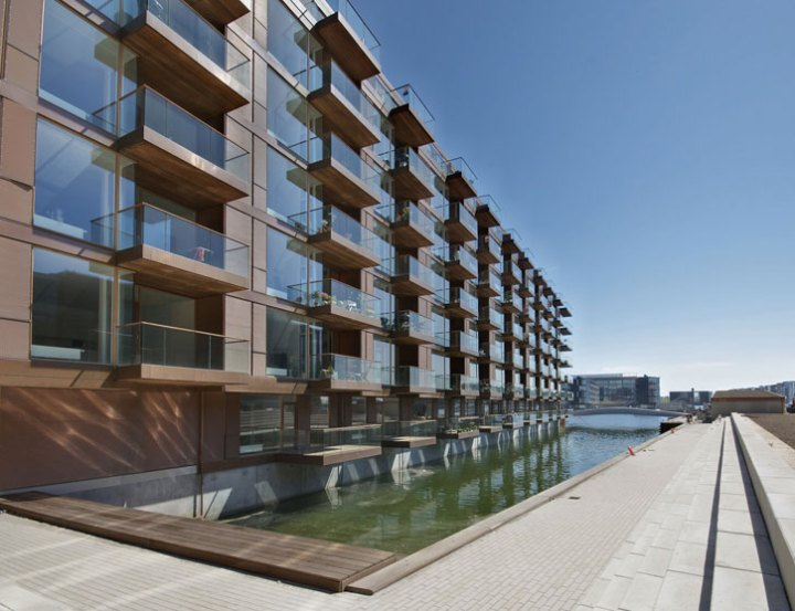 Housing at Frederikskaj, Copenhagen, Denmark - iimage Courtesy of Copper Development Association
