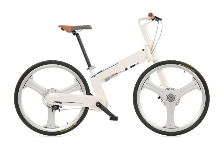 IF Mode white bike